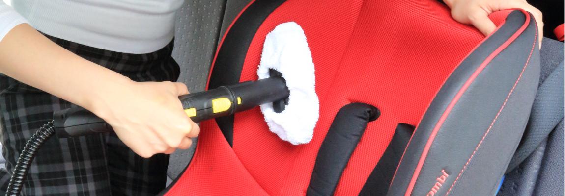 車のシート・チャイルドシートの掃除