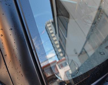 運転中に気になる車窓の汚れがなくなった