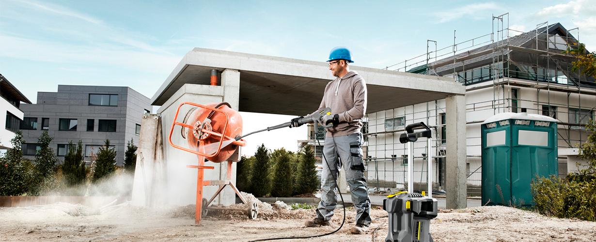 建築現場、工事現場、車両洗浄で活躍する手軽なモデルをご検討のお客様に今ならエントリークラスを特別価格で