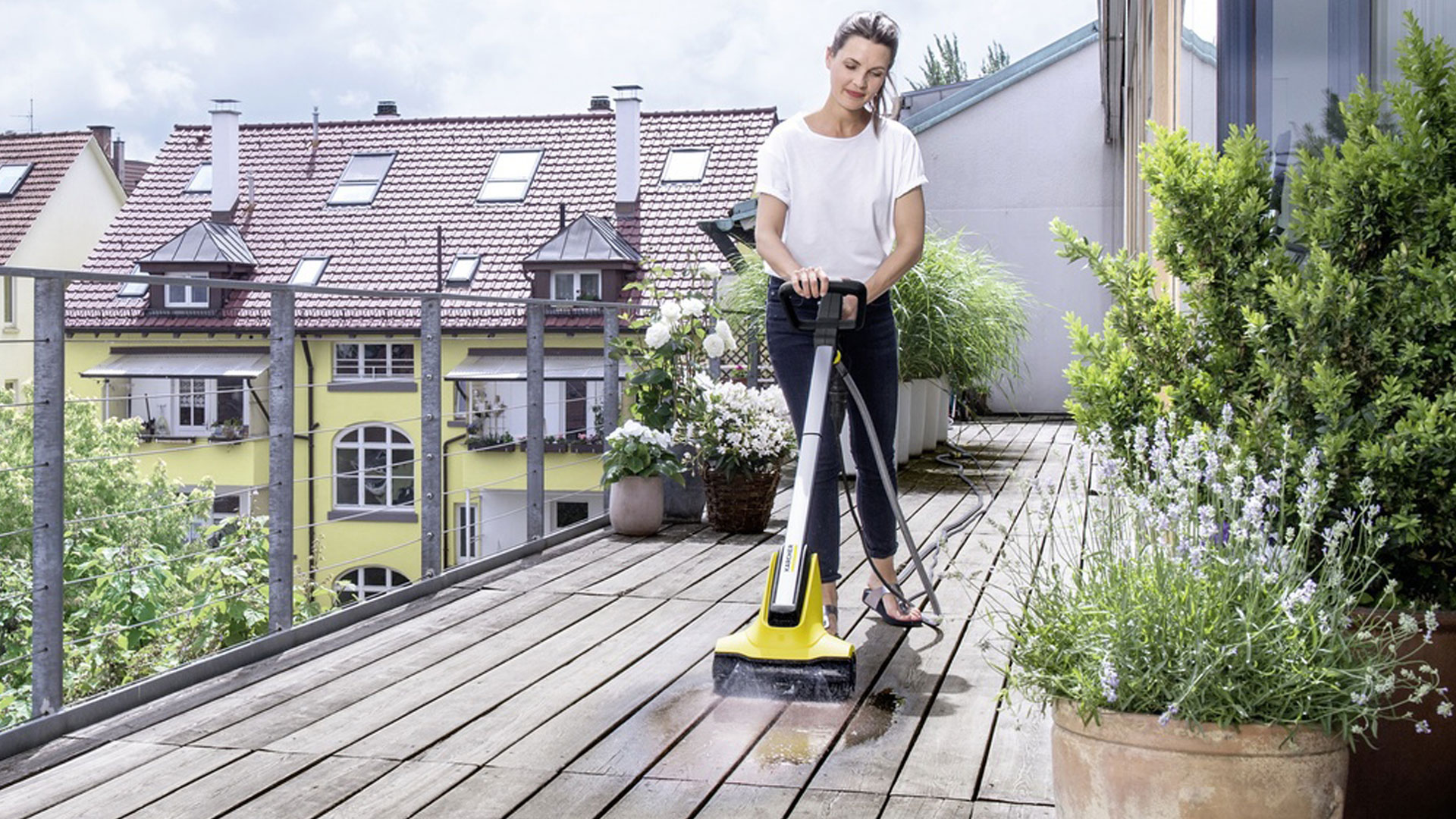 Comment Nettoyer Terrasse Pierre Naturelle nettoyage de terrasse | kärcher