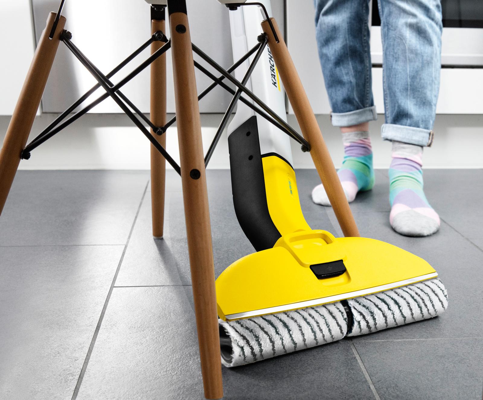 Roller Set For Karcher FC3//FC5 Cordless Wet/&Dry Hard Floor Cleaner 2PCS Rollers