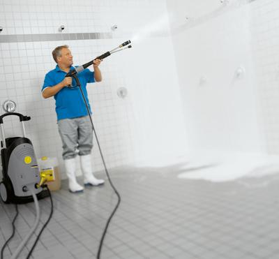Уборка АВД с чистящим средством