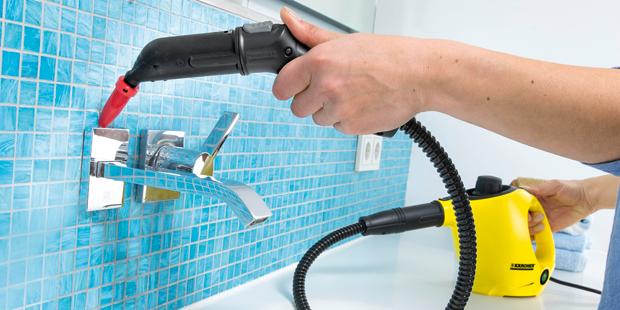 Badezimmer Mit Hochdruck Reiniger