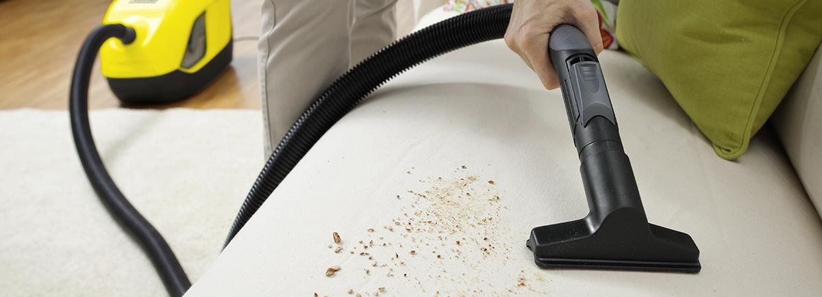 Polsterreinigung: fasertief und gründlich sauber mit Kärcher-Geräten ...