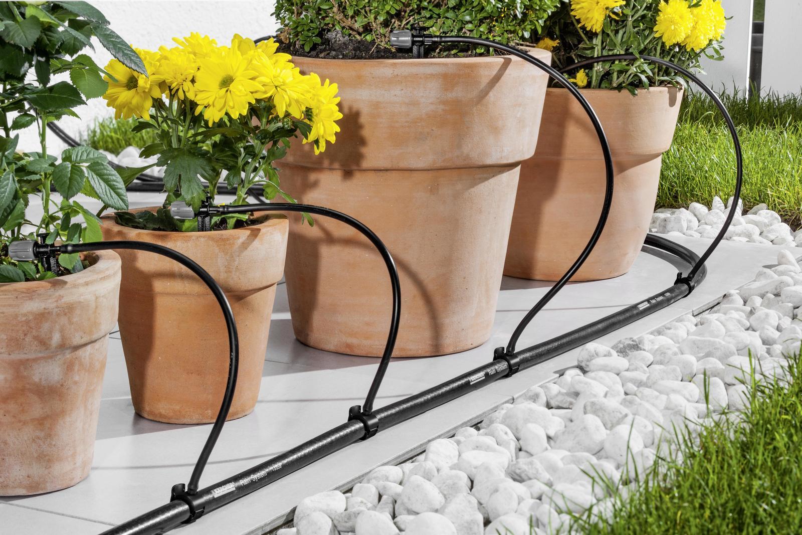 Kärcher & KRS Pot watering set: Water plant tubs and flowerpots ...
