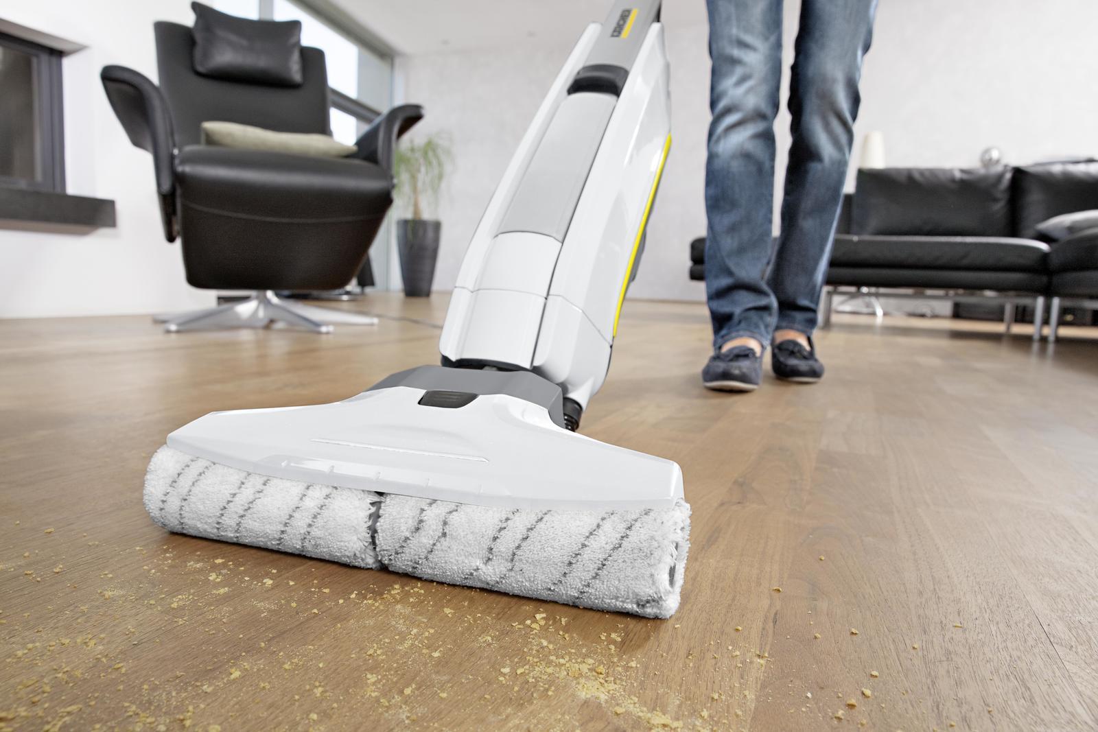 Fußboden Wischen ~ Putztipp pediküre für den fußboden kärcher