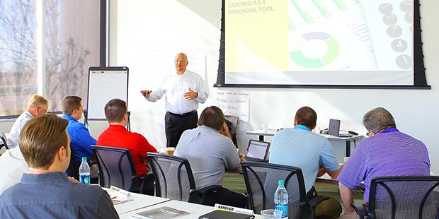 kärcher academy sales service training classes kärcher