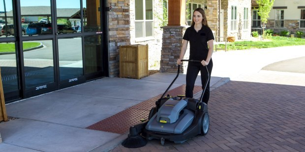 Clean The Exterior Of Your Hotel With Our Selection Karcher Sweepers