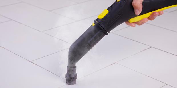 Anwendungstipps - Fugenreinigung ohne Putzmittel und Chemie | Kärcher