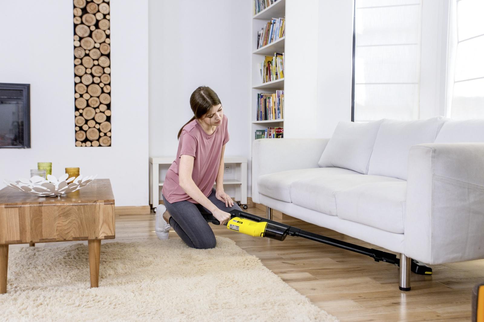 Handheld Vacuum Cleaner Vc 4i Cordless Yellow K 228 Rcher