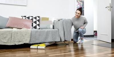 Использование под мебелью