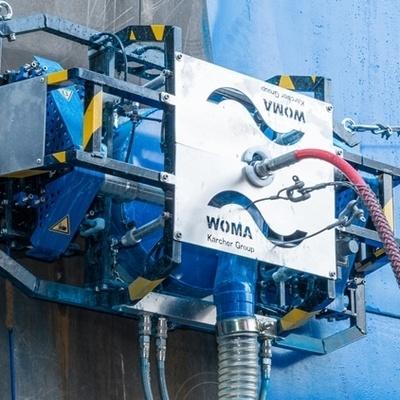Top Hochdruckwasser- Anwendungen | Schiffsentlackung | WOMA GmbH #PC_36