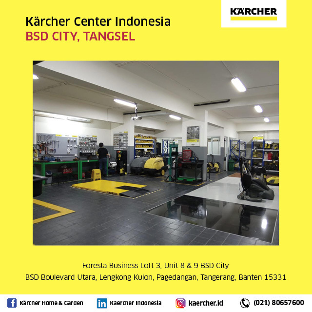 Welcome to Karcher Indonesia Cleaning equipment and pressure