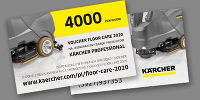 Kärcher Floor Care 2020 Voucher
