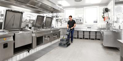 Limpieza de suelos: ventajas de la limpieza mecánica de suelos con fregadoras Kärcher