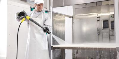 Limpiadoras de alta presión Kärcher de agua caliente para una limpieza de desinfección