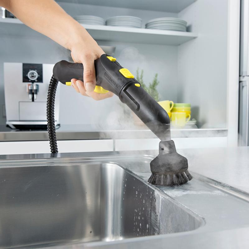 Steam cleaner kitchen
