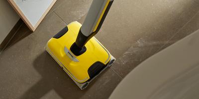 O 20% lepsze rezultaty sprzątania mopem elektrycznym