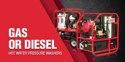 Hot Water Pressure Washers: Industrial & Commercial | Hotsy