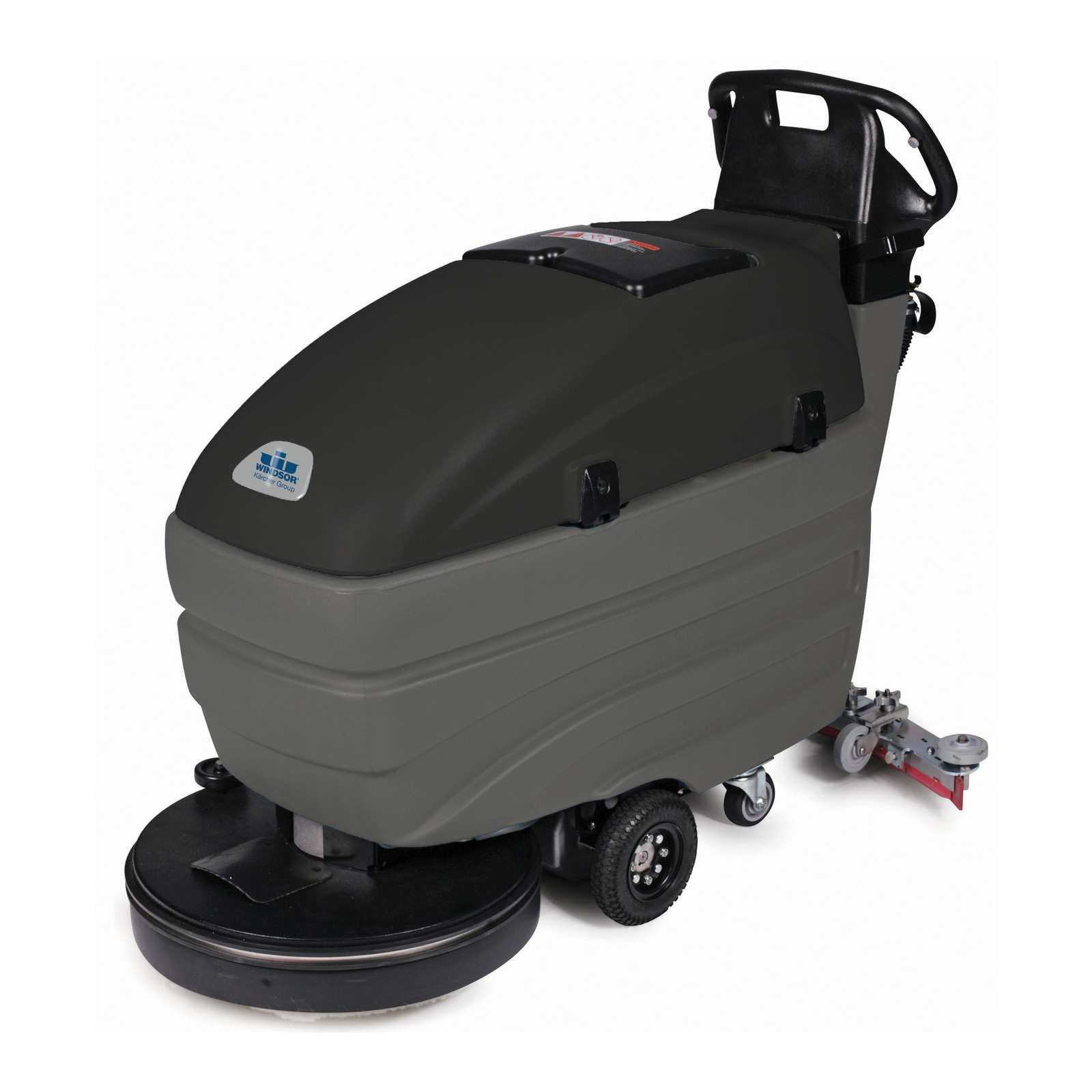 Saber Compact Commercial Automatic Floor Scrubber Windsor - How to use a floor scrubber machine