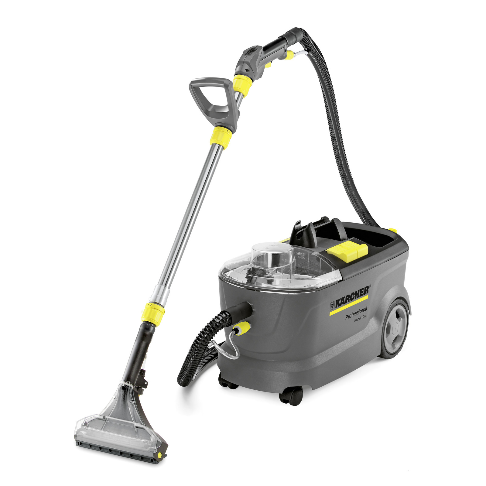 ... cleaner with revolutionary flexible suction tool, providing new levels of convenience and ease of use for cleaning carpets and upholstery.