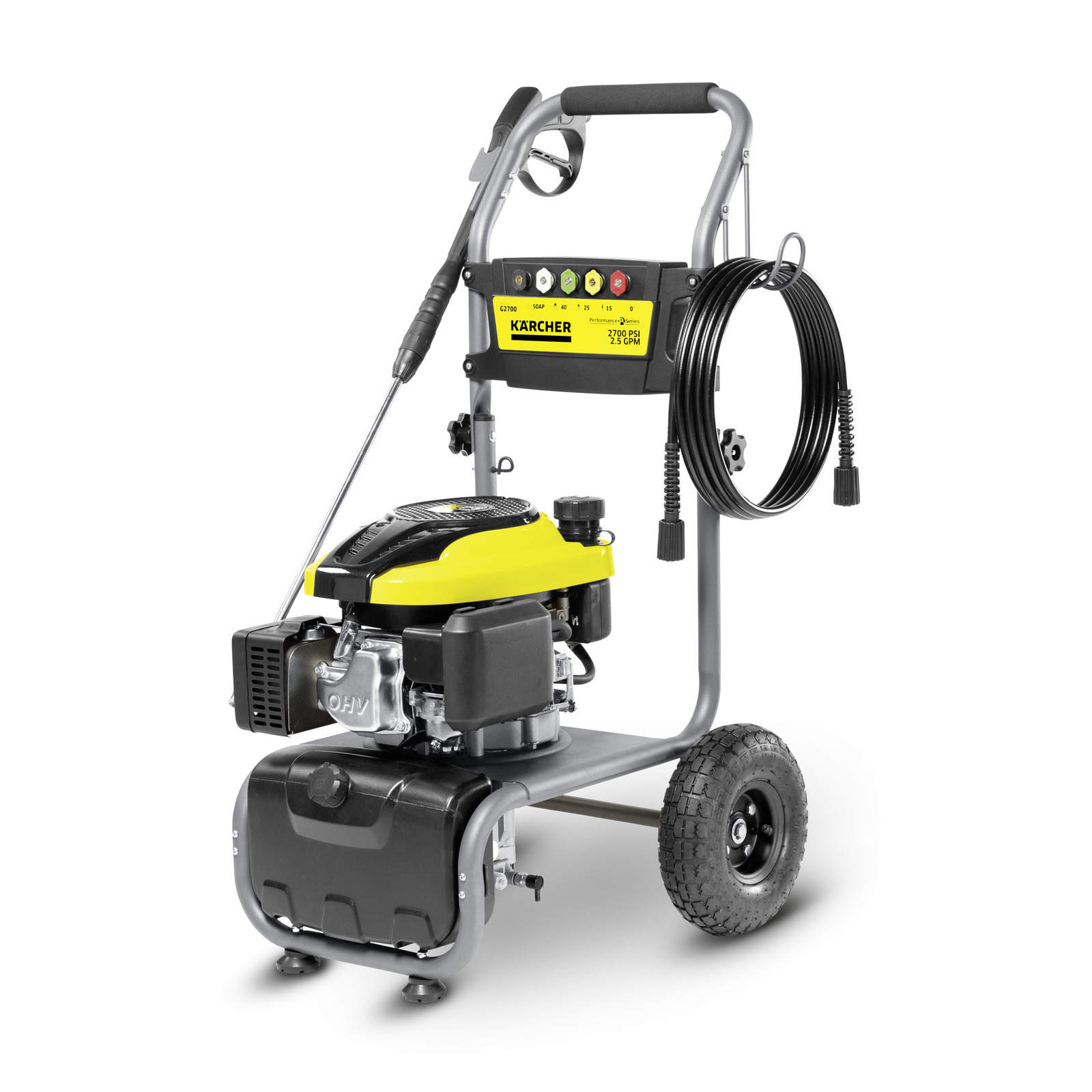 G 2700 11072660 https://www.kaercher.com/us/home-garden/gas-pressure-washers/g-2700-11072660.html  Karcher's G 2700 pressure washer delivers the right amount ...