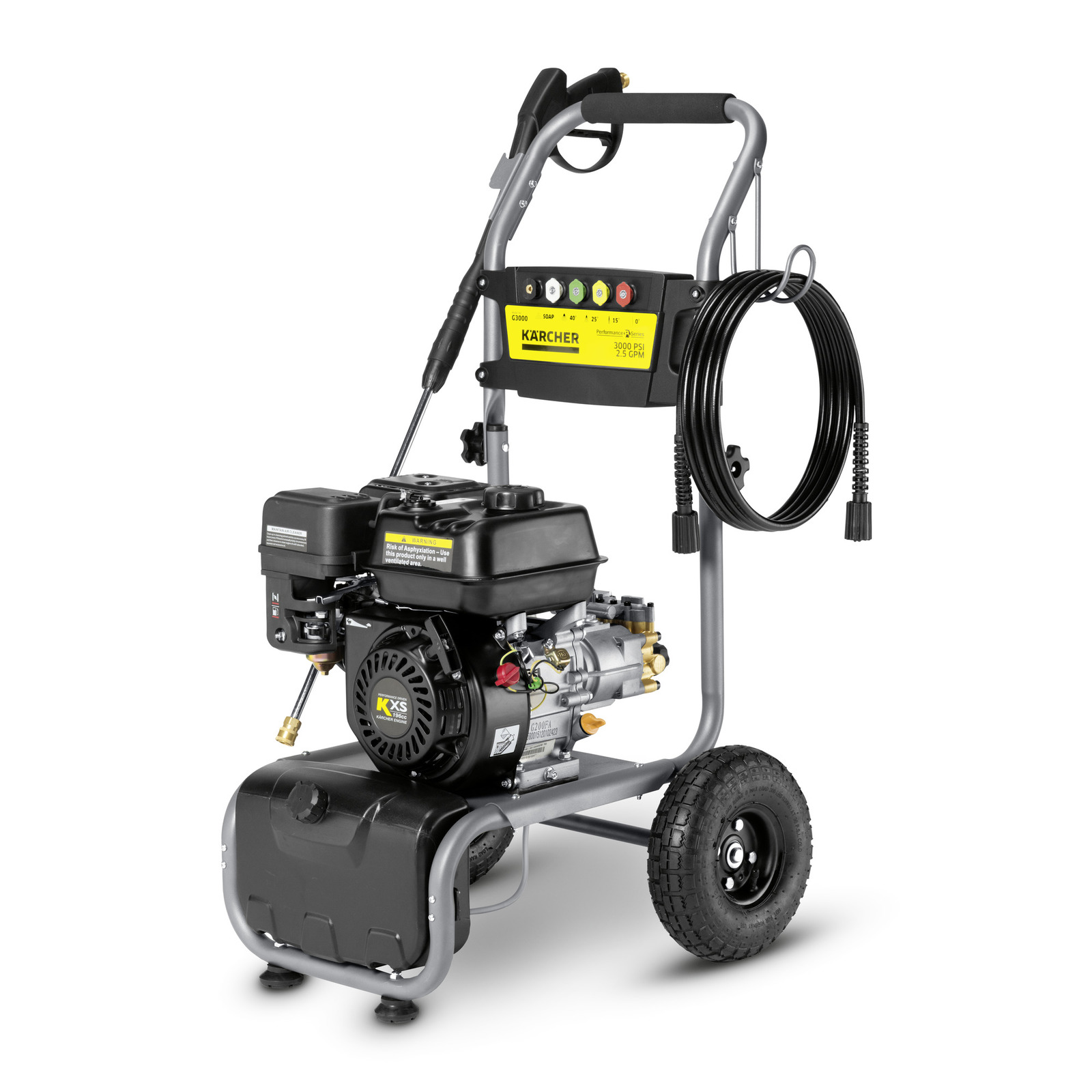 G 3000 Gas Powered Pressure Washer 3000 Psi 1 107 280 0