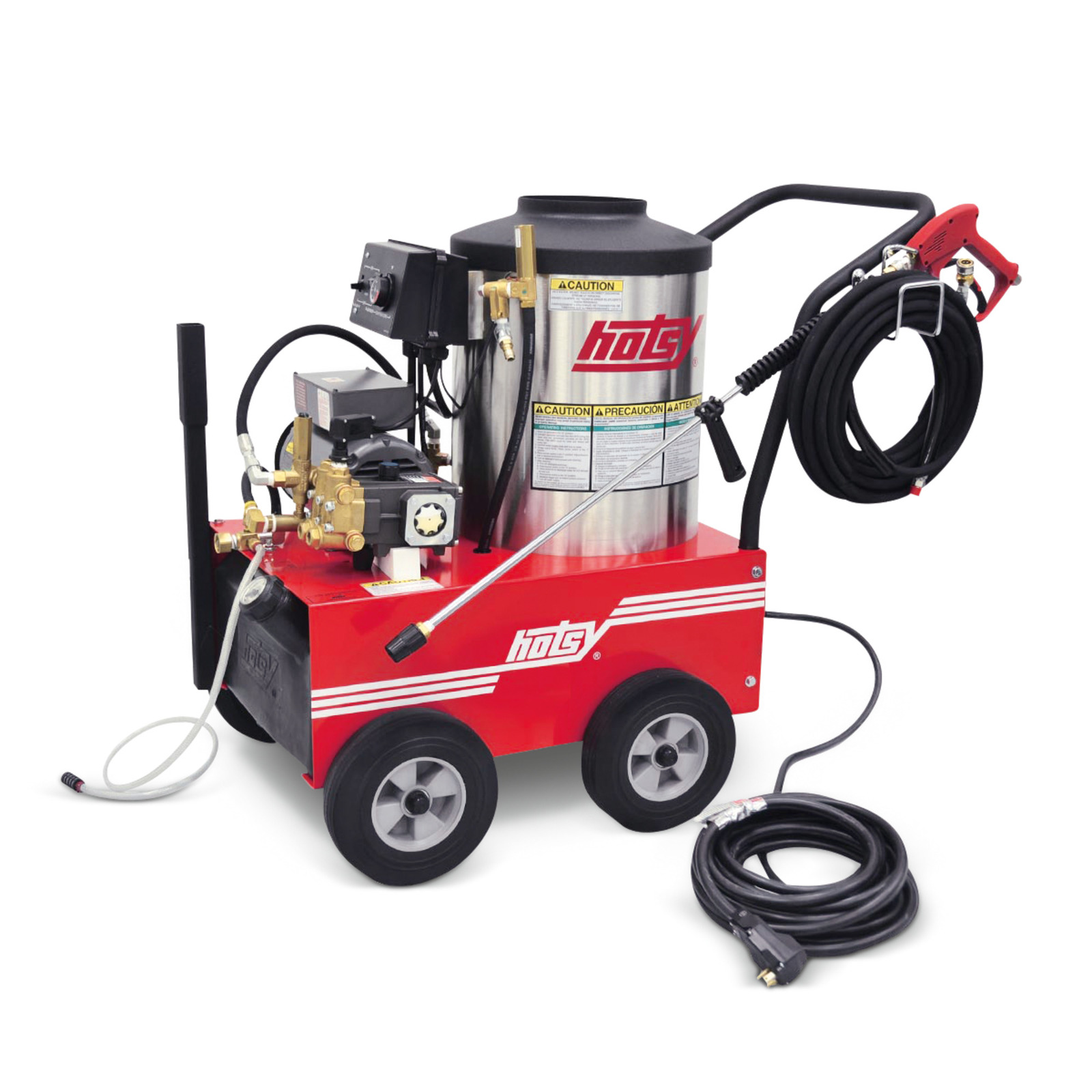 500 Series - Electric Hot Water Pressure Washers | Hotsy
