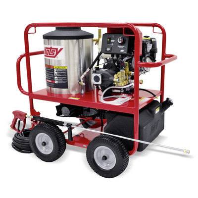 Gas Engine Series Pressure Washers Direct-Drive Pump | Hotsy
