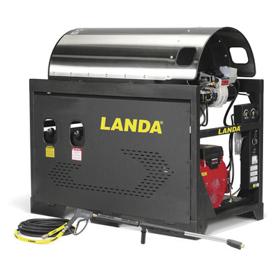 SLX Series Hot Water Pressure Washers, Gas/Diesel | Landa