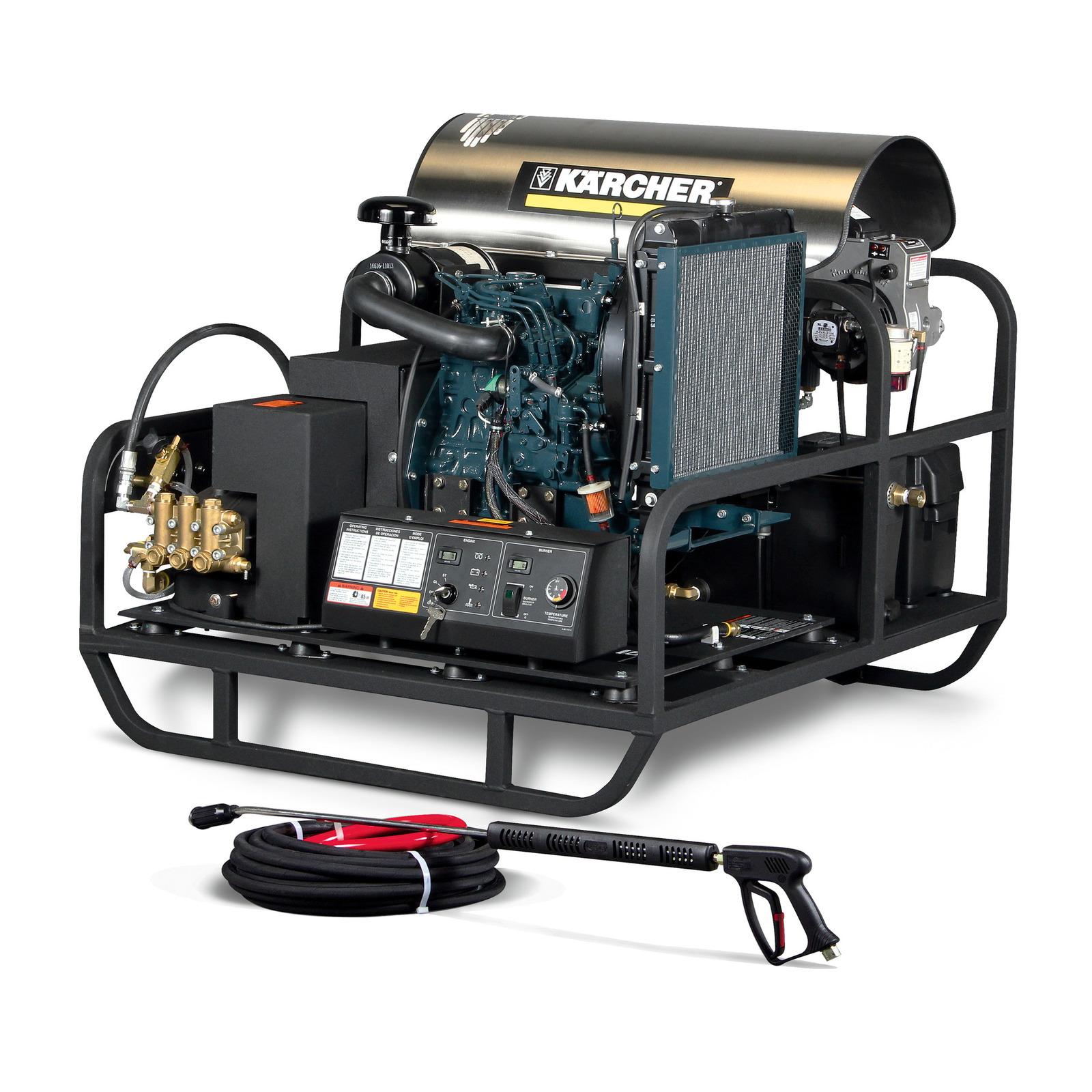 Hot Water Pressure Washer Hds De Cage Karcher