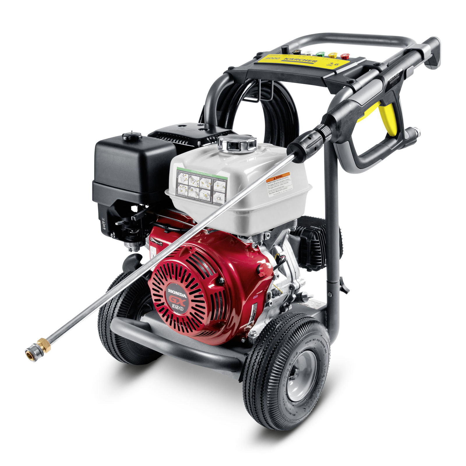 G 4000 OH Gas Powered Pressure Washer, 4000 PSI, 1 194