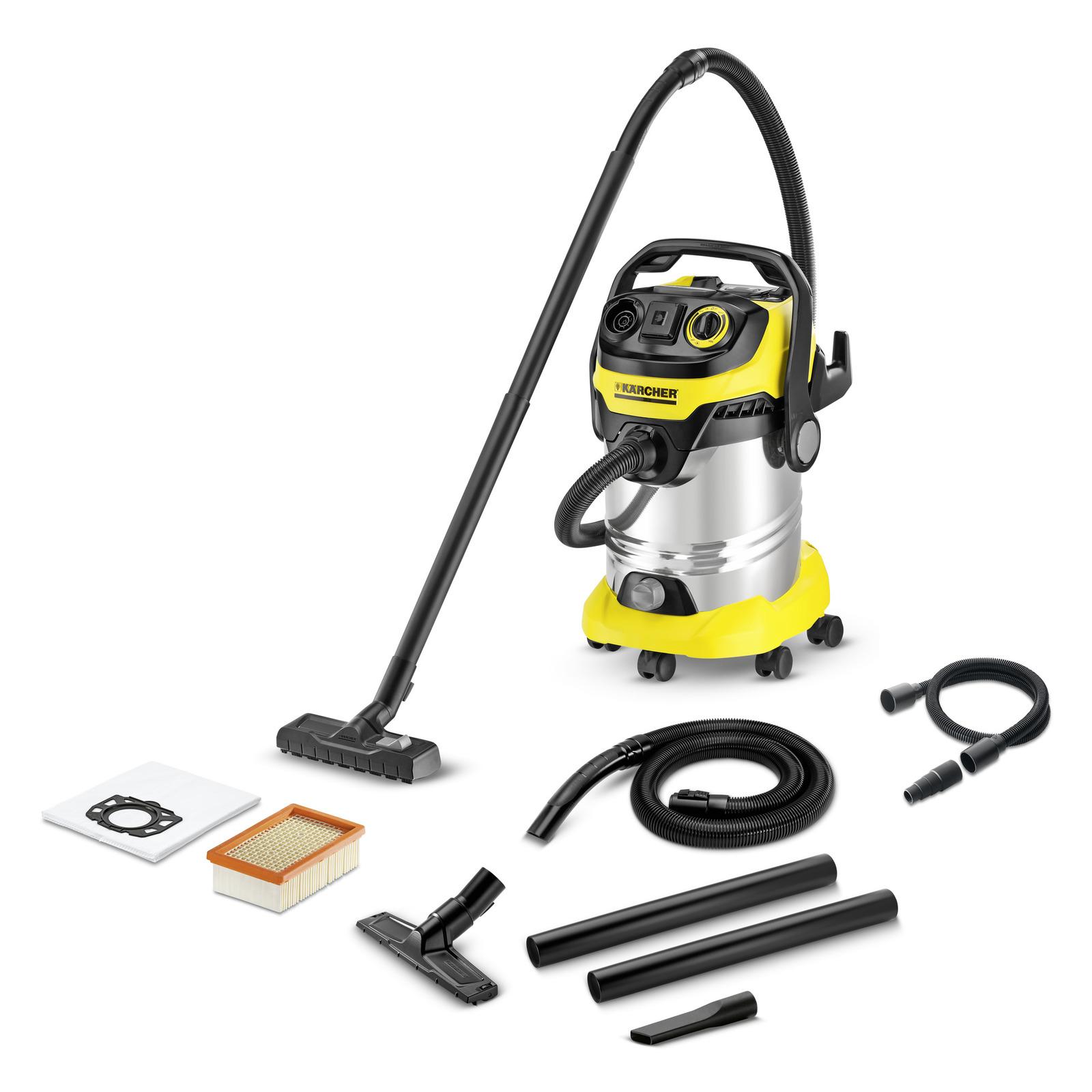 Aspirateur multifonction wd 6 p premium renovation k rcher for Housse aspirateur