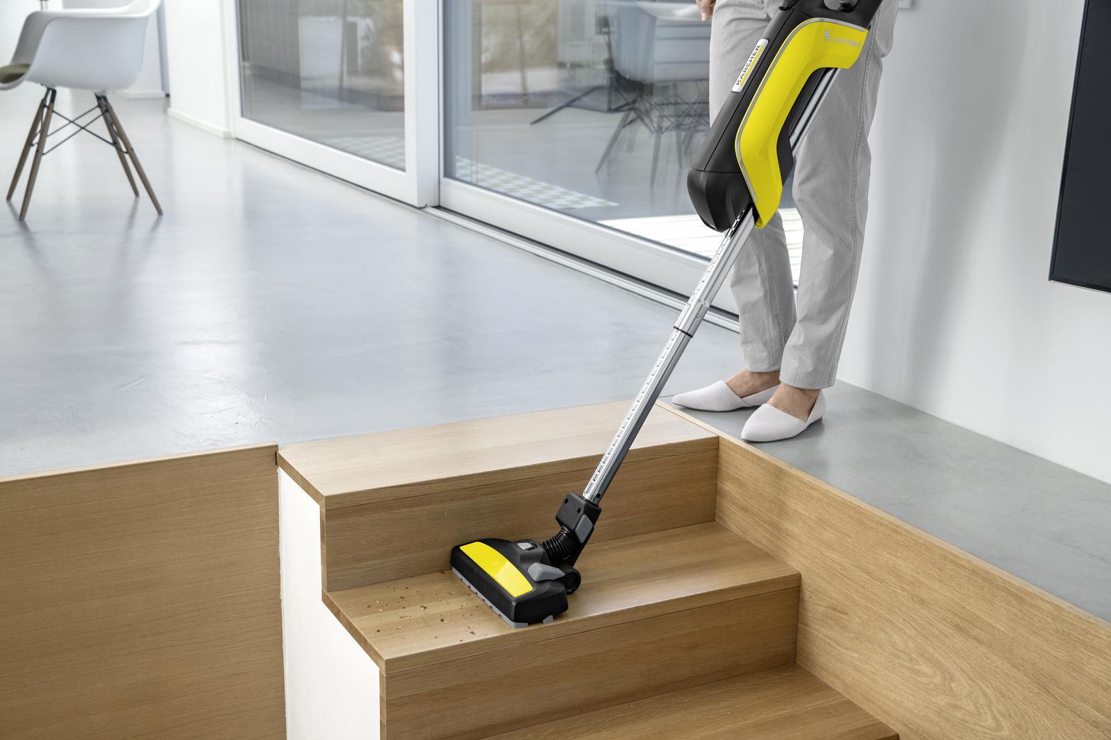 aspirateur balai vc 5 sans fil k rcher. Black Bedroom Furniture Sets. Home Design Ideas