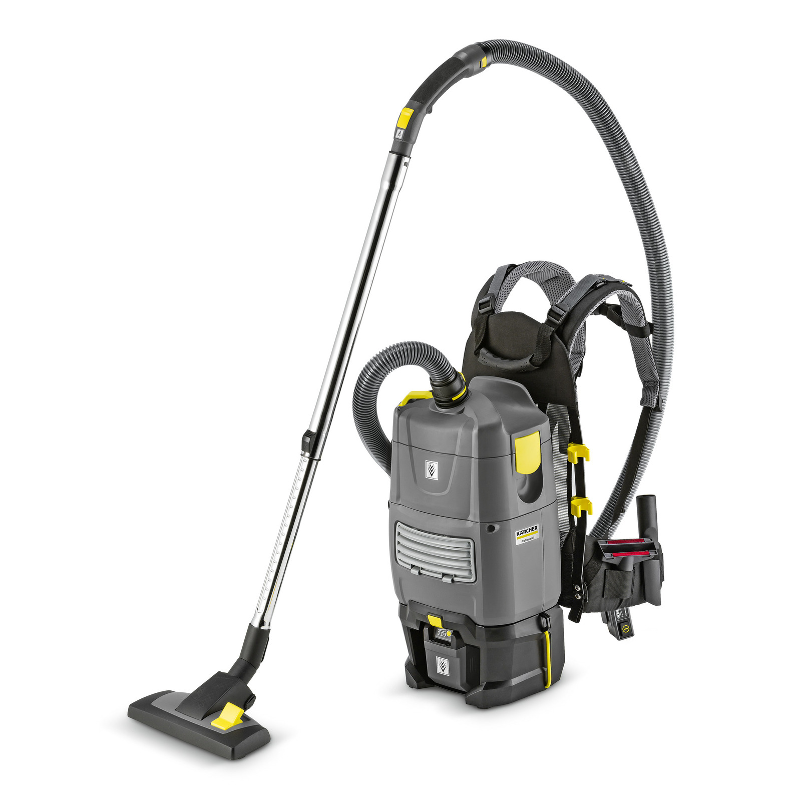 Bv 5 1 Bp Krcher International Wiring Harness Battery Powered Backpack Vacuum Designed With Ergonomic Highly Comfortable Carrying Frame For Cleaning Work In The Most Confined Spaces