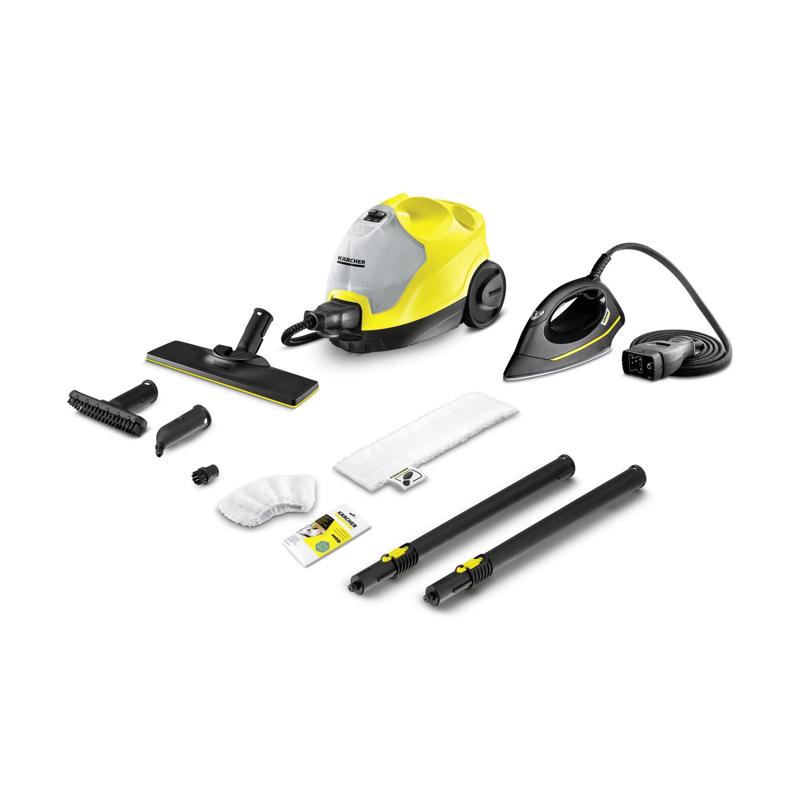 Extension Nozzle Small Round Brushes Kits for Karcher SC Series Steam Cleaning