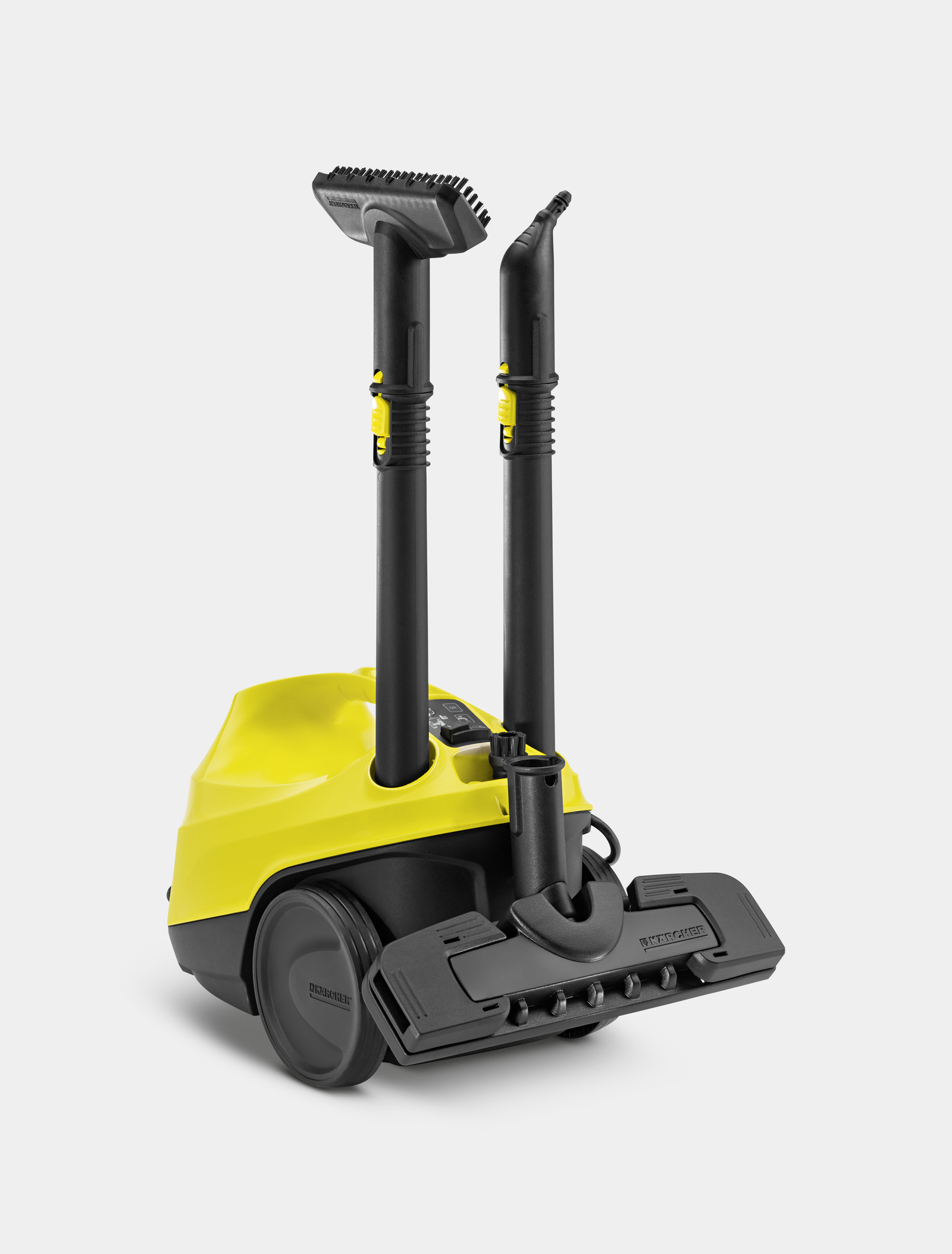 how to use karcher steam cleaner