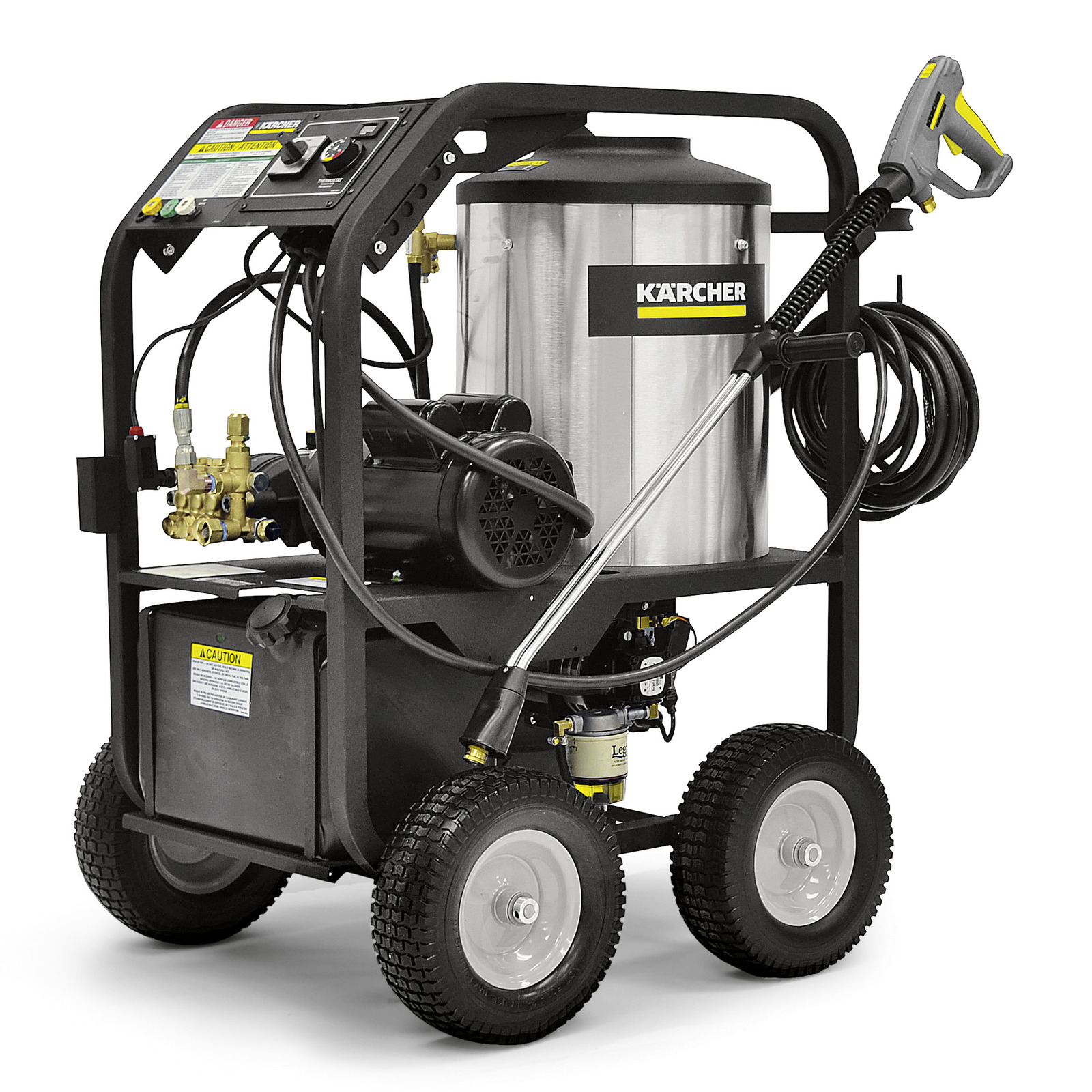 Hds Cage Electric Hot Water Commercial Power Washer Karcher