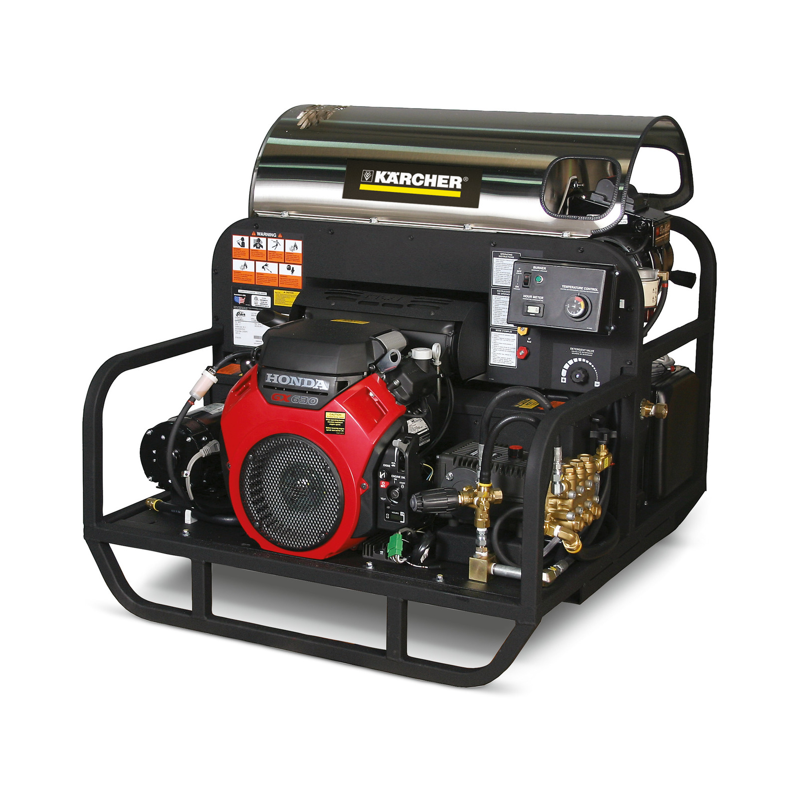 Gas Diesel powered hot water pressure washers