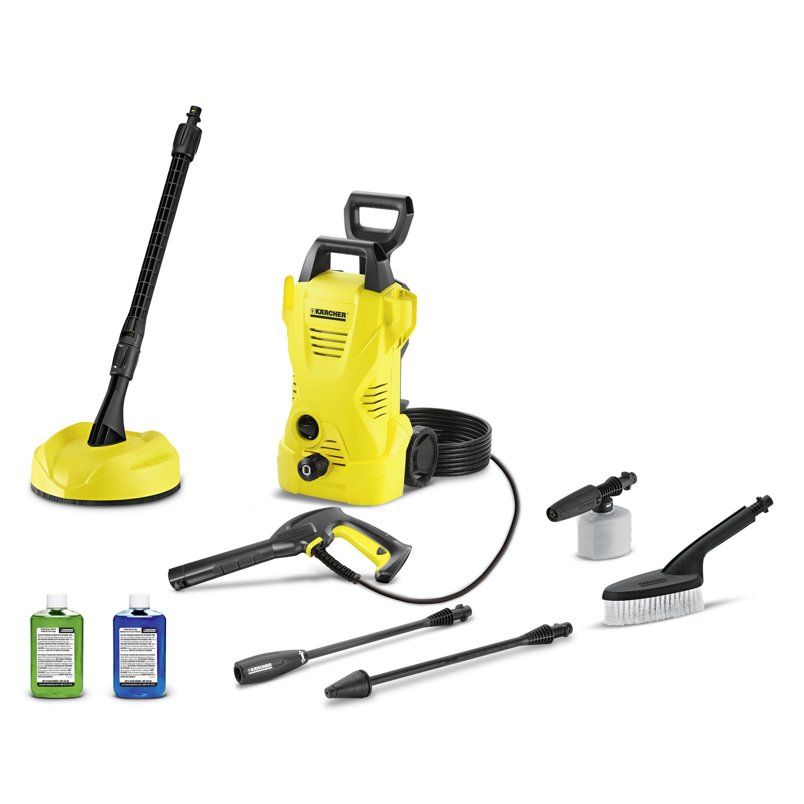 k2 electric pressure washer w car home kit 1600 psi karcher. Black Bedroom Furniture Sets. Home Design Ideas
