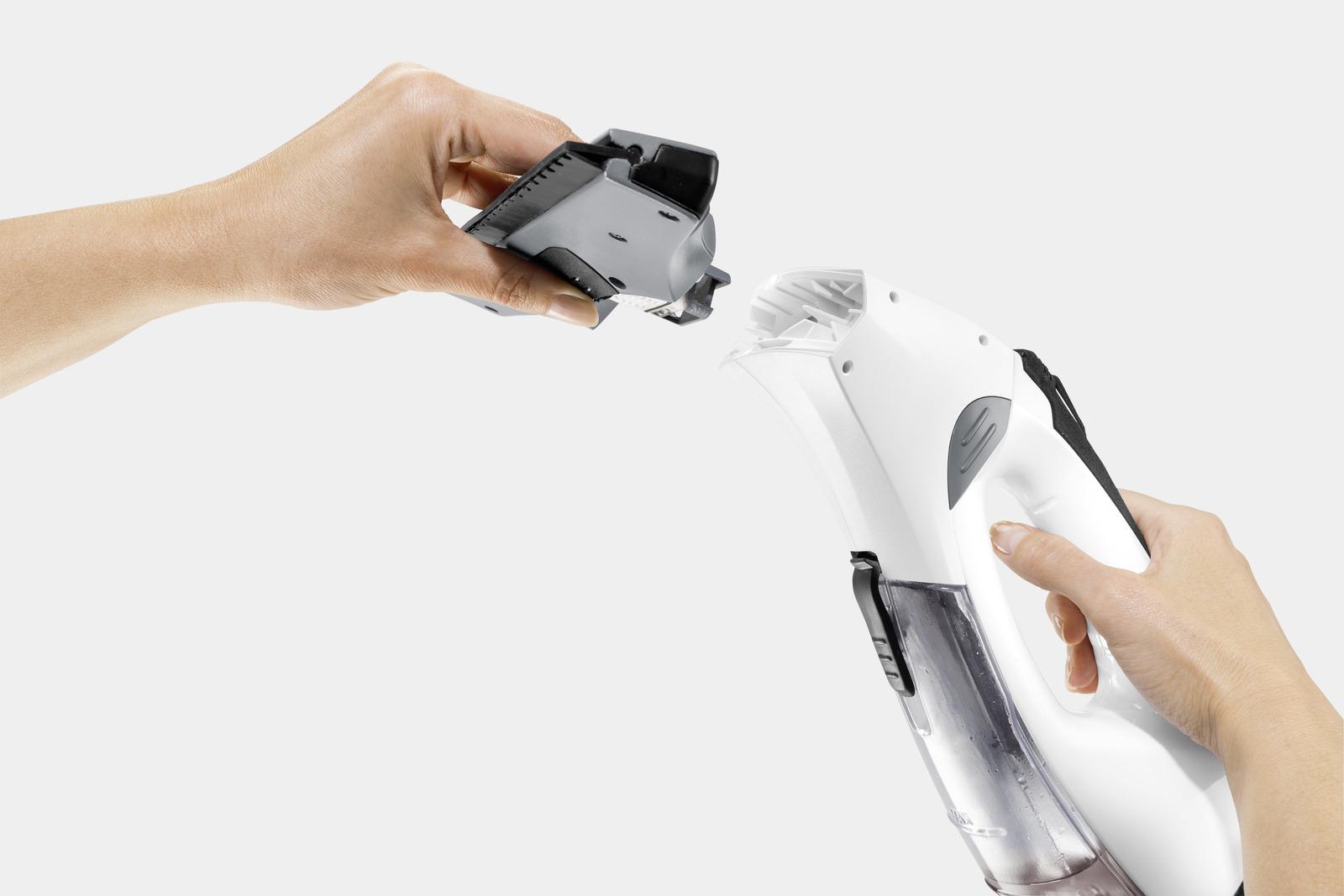 Akku fenstersauger wv premium non stop cleaning kit kärcher