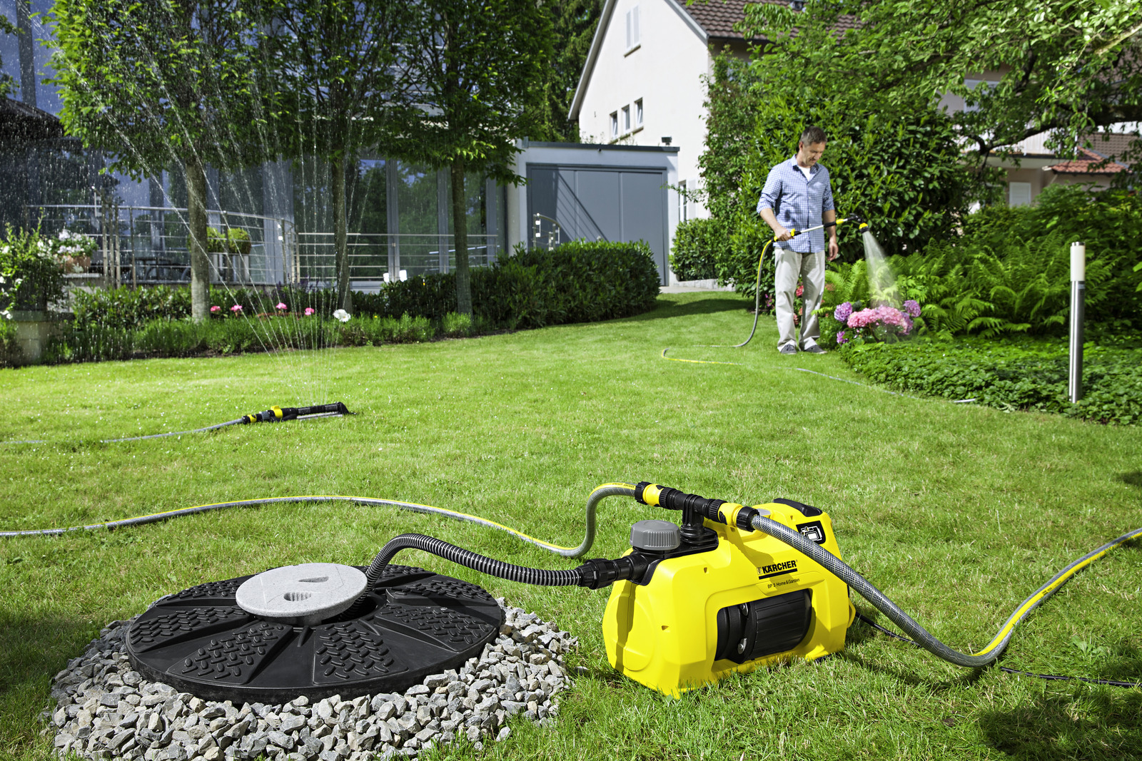Pompe de jardin bp 3 home and garden k rcher for Pompe a eau de jardin
