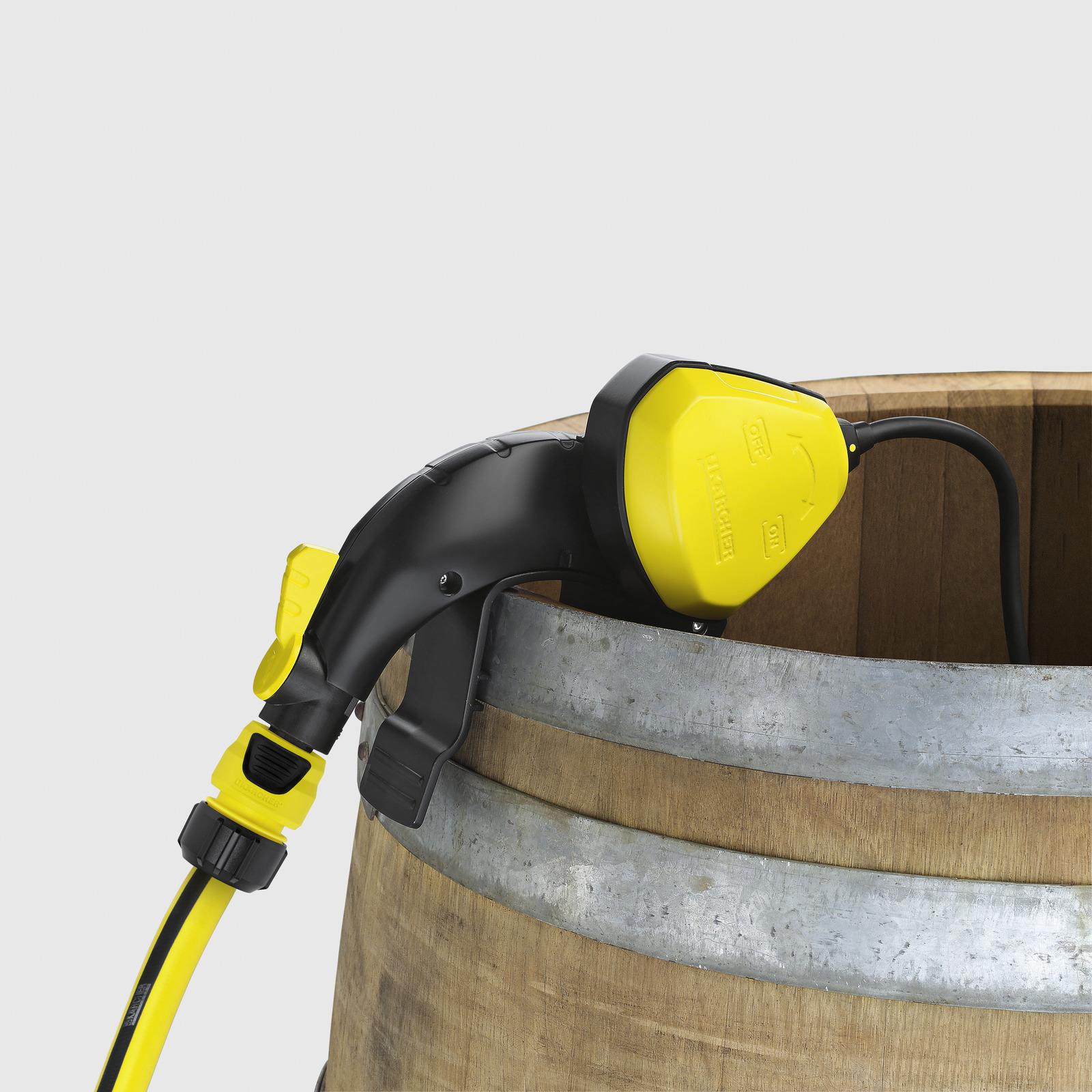 pompe pour r cup rateur d 39 eau de pluie bp1 barrel set. Black Bedroom Furniture Sets. Home Design Ideas