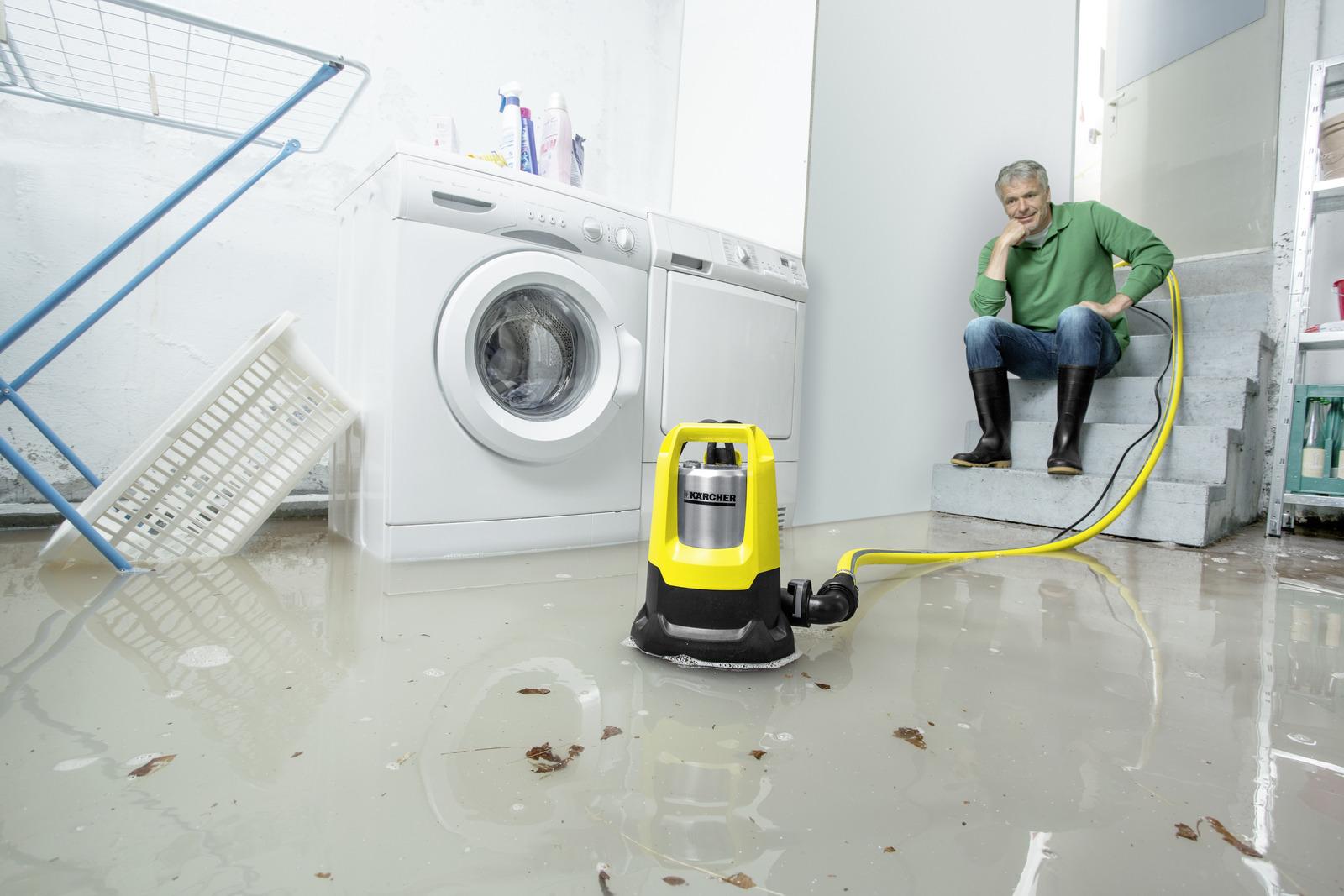 pompe d 39 vacuation pour eaux charg es sp 7 dirt inox k rcher. Black Bedroom Furniture Sets. Home Design Ideas