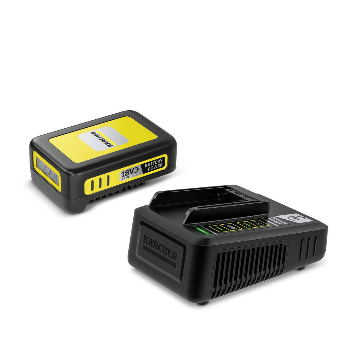 Kärcher Súprava batérie a rýchlonabíjačky 18 V/ 2,5 Ah