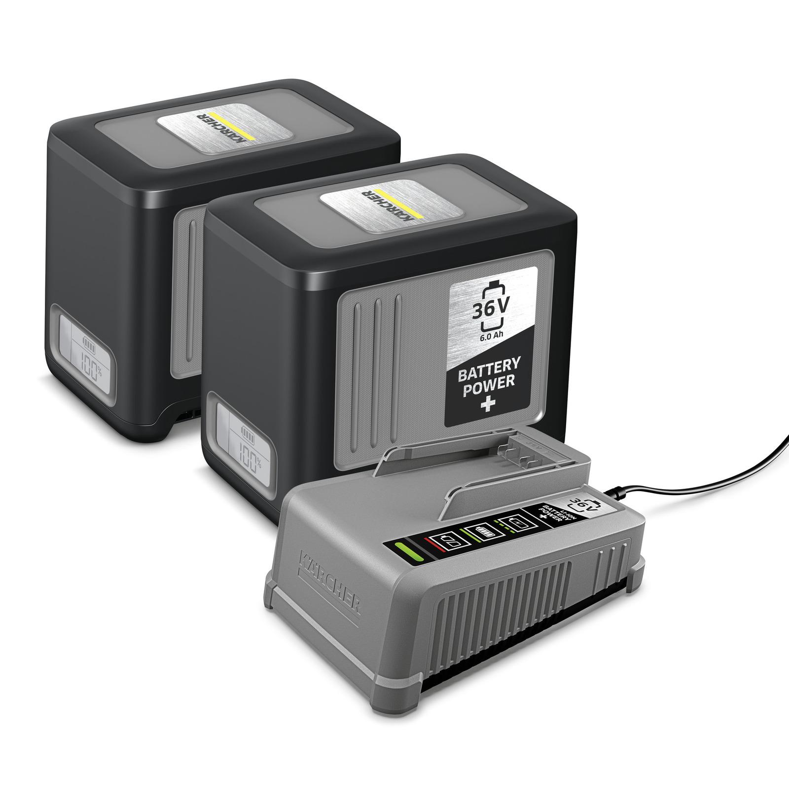 Kärcher - Starter kit Battery Power+ 36/60