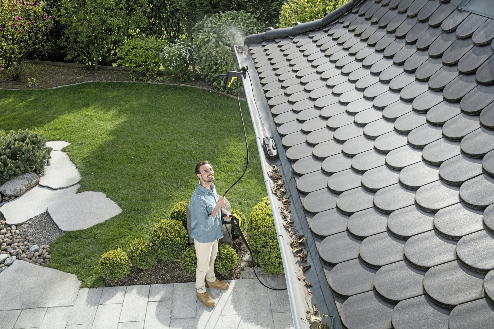 Roof Gutter And Pipe Cleaning Set K 228 Rcher Uk