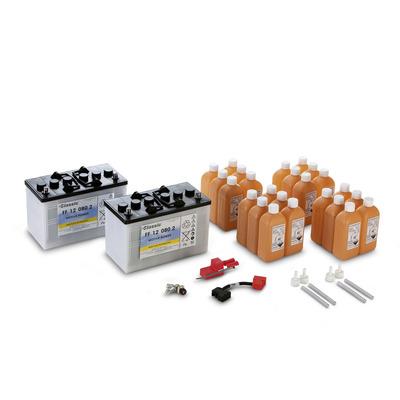 Conjunto de baterias, 24 V, 80 Ah, falta de manutenção
