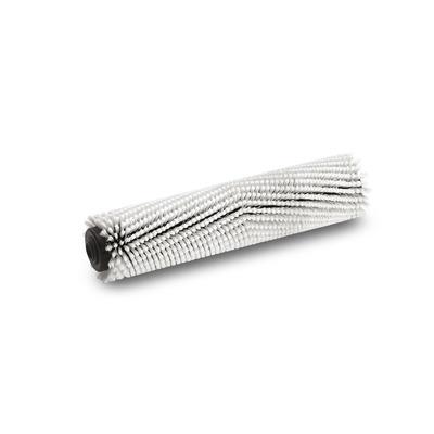 Escova cilíndrica, muito suave, branco, 400 mm