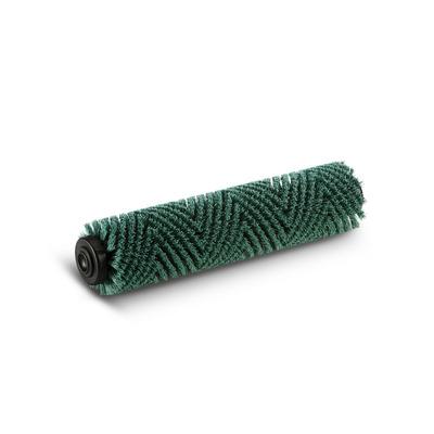 Escova cilíndrica, duro, verde, 400 mm